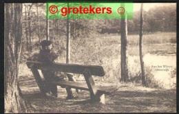 OISTERWIJK Witven Rustig Op Een Bankje ± 1925 - Nederland