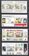 NETHERLANDS 4 Blocs ** With Comic Characters Kuifje/Tintin Sidonia And Others - Blocs