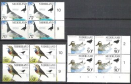 NETHERLANDS NVPH 1598/1600 In Blocs Of 4 ** Stamp Exhibition FEPA 94 - Unused Stamps
