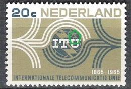NEDERLAND Plaatfout NVPH 840P ** Extra Bolletje Boven De U Van ITU - Variétés Et Curiosités