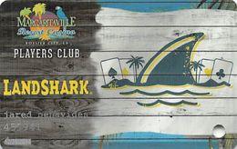 Margaritaville Resort Casino - Bossier City, LA - Landshark Slot Card - Cartes De Casino