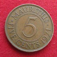 Mauritius 5 Cents 1971 Mauricia Maurice  Wºº - Maurice