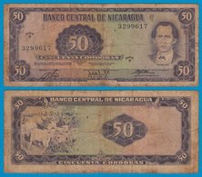 Nikaragua - Nicaragua 50 Cordobas 1978 Pick 125 G (6)  (18687 - Banknoten