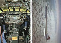 British Airways Concorde & Flight Deck 2x Skiltons Plane Postcard S - Ohne Zuordnung