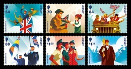 Jersey 2020 Mih. 2391/96 World War II. 75th Anniversary Of The Liberation Of Jersey MNH ** - Jersey