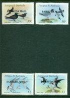 BARBUDA 1987 Mi 958-61** Sea Birds [A6190] - Marine Web-footed Birds