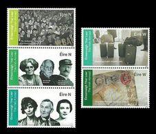 Ireland 2020 Mih. 2349/53 Irish Abroad. Cinema. Music. Literature. Holocaust MNH ** - 1949-... Repubblica D'Irlanda