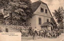 GRAZ, ANTON WERKS GASTHAUS, 1911 - Graz