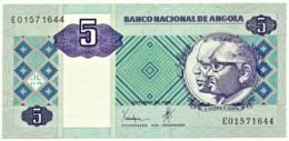 Angola - 5 Kwanzas - 10.1999 - Pick 144.a - Sign. 21 - Série EO - José Eduardo Dos Santos E Agostinho Neto - Angola