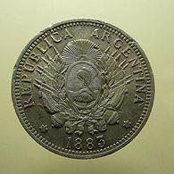 Argentina 50 Centavos 1883 Silver - Argentina