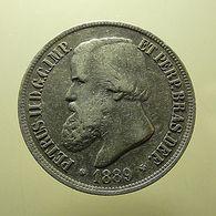 Brazil 1000 Reis 1889 Silver - Brasilien