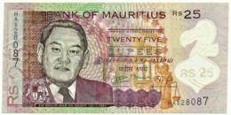 Mauritius - 25 Rupees - 2013 - Pick: 64 - Serie HA - Mauricio
