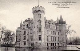 LES TROIS MOUTIERS  Château De La Motte Chandeniers - Les Trois Moutiers