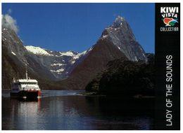 (B 6) New Zealand - Milford Sound - Lady Of The Sounds Ship - Nuova Zelanda