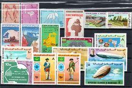 H1-3 Mauritanie Entre N° 333 Et 352 ** - Mauritania (1960-...)
