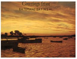 (C 7) Australia - NSW - Batemans Bay Sunset - Australia