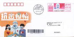 China 2020 Beijing Fight Epidemic(Covid-19)  Entired Commemorative Cover - 1949 - ... Repubblica Popolare