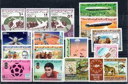 H1-3 Mauritanie Poste Aérienne Entre N° 167 Et 187 ** - Mauritania (1960-...)