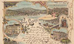 CROAZIA-LOSINJ -LUSSINO-GRUSS AUS-  CARTOLINA VIAGGIATA IL 3-3-1897 - Kroatien