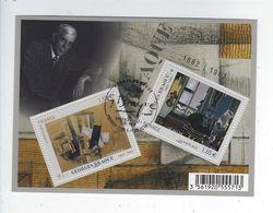 F 4800 Série Artistique Personnalité Georges Braque Oblitéré 1er Jour 2013 - Sheetlets