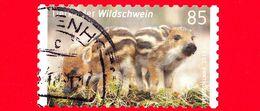 GERMANIA - Usato - 2017 - Cuccioli Di Animale - Suini - Maiali - Cinghiali - Wild Boar - (Sus Scrofa) - 85 - BRD