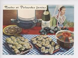 Moules Et Palourdes Farcies (gastronomie Recette N°91 Emilie Bernard) Vinde Muscadet Folklore Coiffe Costume - Ricette Di Cucina