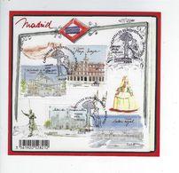 F 4730 Capitales Européennes Madrid Oblitéré 1er Jour 2013 - Sheetlets