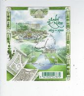 F 4751 Jardins De France André Le Notre Oblitéré 1er Jour 2013 - Sheetlets