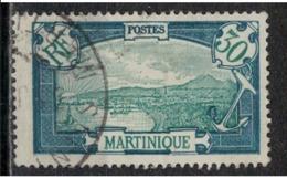 MARTINIQUE            N°  YVERT    121     OBLITERE       ( Ob   6 / 50 ) - Martinica (1886-1947)