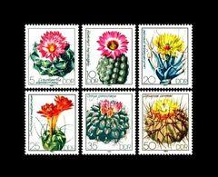 DDR / East-Germany: 'Kakteen, Cactaceae, 1983' / 'Cactuses', Mi. 2802-2807; Yv. 2445-2450; Sc. 2349-2354 ** - Cactusses