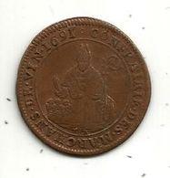 Médaille, CONFRAIRIE DES MARCHANDS DE VIN , 1691 , 2 Scans - Professionnels / De Société