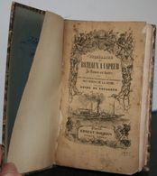 Jg2.r- Itinéraire Des Bateaux à Vapeur De Rouen Au Havre 1835 Bords Seine Ernest Bourdin - Livres, BD, Revues