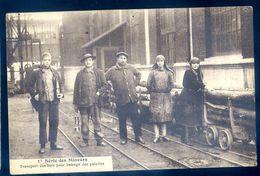 Cpa  Du 62  Bethune Série Des Mineurs - Transport Du Bois Pour Le Boisage Des Galeries   AVR20-71 - Bethune