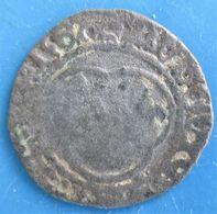 LOUIS XII LE PÈRE DU PEUPLE Denier Tournois, Avers : LUDOVICUS ?, Revers :TVRONVS CIVIS FRACOR,TB - 1515-1547 François Ier