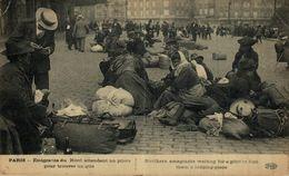 Emigrants Du Nord Attendant Un Pilots Pour Trouver Un Gite.  GUERRE FRANCE 1914/18 WWI WWICOLLECTION - Weltkrieg 1914-18
