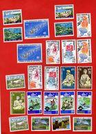 Lot De 24 Timbres NEW HEBRIDES NOUVELLES HEBRIDES Neufs Xx - Collections, Lots & Séries