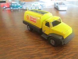 CP85 Corgi Cubs, Ancien Camion Shell Tanker, 11 Cm - Camions, Bus Et Construction