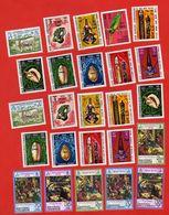 Lot De 25 Timbres NEW HEBRIDES NOUVELLES HEBRIDES Neufs Xx - Collections, Lots & Séries