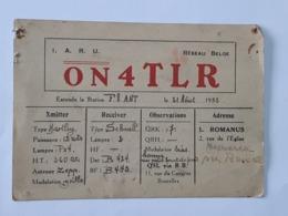 Carte QSL - QRA De Bruxelles  ... Lot140 . - Sin Clasificación