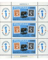 Ref. 87428 * MNH * - PHILIPPINES. 1977. ESPAMER 77. INTERNATIONAL PHILATELIC EXHIBITION. . ESPAMER 77. EXPOSICION FILAT - Philippines