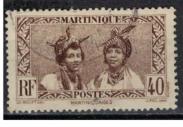 MARTINIQUE            N°  YVERT    142  ( 1 )     OBLITERE       ( Ob   6 / 51 ) - Martinique (1886-1947)