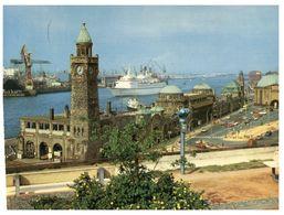 (C 9) Germany - Hamburg St Paul With Cruise Ship - Iglesias Y Catedrales