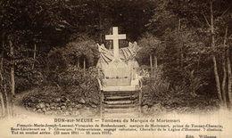 Tombeau Du Marquis De Mortemart.  GUERRE FRANCE 1914/18 WWI WWICOLLECTION - Guerra 1914-18