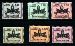 19367) VATICANO Stemma Pontificio - Segnatasse - 28 Maggio 1968   SERIE COMPLETA MNH** - Vatican