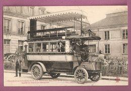 Cpa Omnibus Automobile De La Cie Générale Des Omnibus Système Gardner Serpollet - Collection F Fleury - Autobus & Pullman