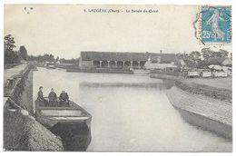 18 Cher :  Laugère  Le Bassin Du Canal      Réf 7963 - France