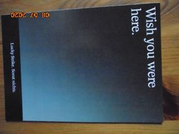 """Carte Postale Publicitaire Allemand (Taschen 1996) 16,3 X 11,4 Cm. Lucky Strike. Sonst Nichts. """"Wish You Were Here"""" 1994 - Objets Publicitaires"""