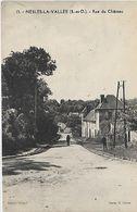 95 NESLES-la-VALLEE, 1302 Habitants, Rue Du Chateau; Personnages, Scan Recto-Verso - Nesles-la-Vallée