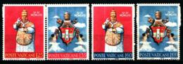 19371) VATICANO Incoronazione Di Giovanni XXIII - 2 Aprile 1959 SERIE COMPLETA MNH** - Vatican