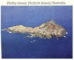 (C 9) Australia  - Norfolk Island - Phillip Island - Norfolk Island
